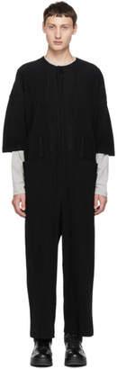Issey Miyake Homme Plisse Black Pleats 2 Jumpsuit