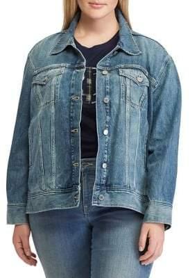 Lauren Ralph Lauren Plus Denim Jacket