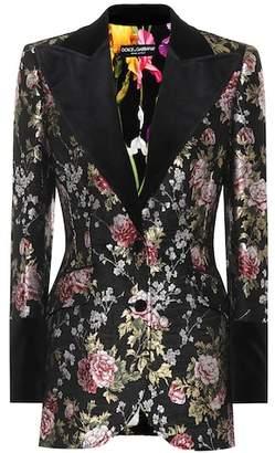 Dolce & Gabbana Floral jacquard jacket