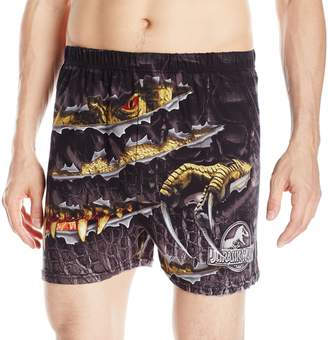 Briefly Stated Men's Jurassic World T-Rex Cotton Boxers