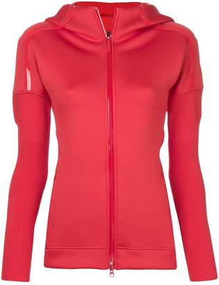 adidas by Stella McCartney Z.N.E. fitted hoodie