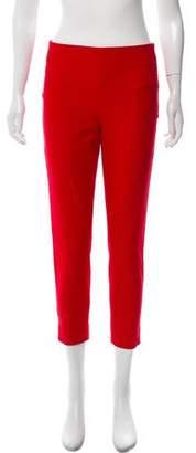 Joseph Cropped Mid-Rise Pants