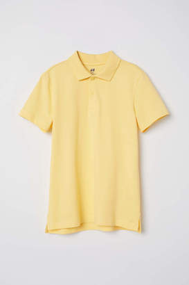 H&M Polo Shirt - Yellow - Kids