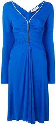 Emilio Pucci strass embellished midi dress