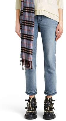Burberry Relaxed Crop Jeans