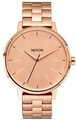 Nixon Analog Kensington Goldtone Watch