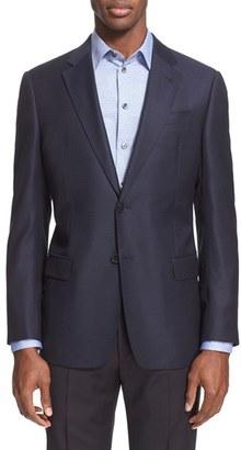 Men's Armani Collezioni G-Line Trim Fit Wool Blazer $1,295 thestylecure.com