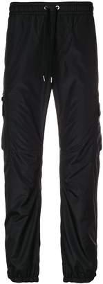 Versace drawstring waist track pants