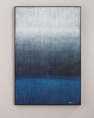 "John-Richard Collection Waters Edge"" Handmade Painting Wall Art by Liu Mengzhou"