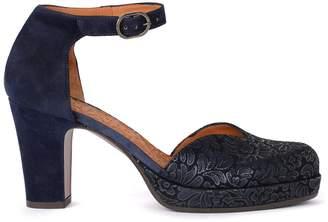 Chie Mihara Ju-maho Blue Suede Shoes