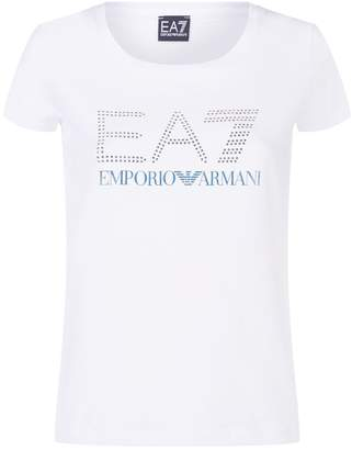 Giorgio Armani Ea7 Logo Stud T-Shirt