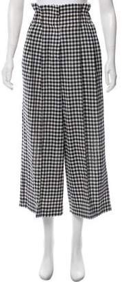 Sonia Rykiel High-Rise Wide-Leg Pants