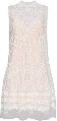 Miu Miu Sleeveless lace midi dress