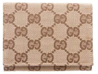 Gucci GG Canvas Card Case