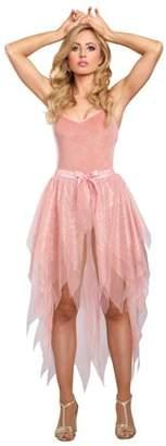 Dreamgirl Women's Sparkling Rose Gold Costume Tutu Skirt