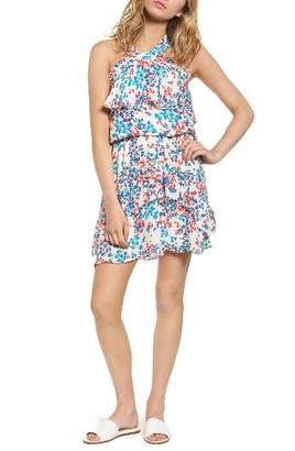 Women's Parker Trisha Silk Minidress $378 thestylecure.com