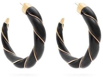 Aurelie Bidermann Diana twisted-effect gold-plated earrings