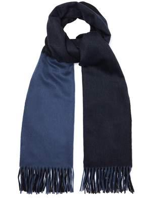 Co BEGG & Arran Frame grid cashmere scarf