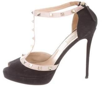 e580973756a0 Valentino Black Platforms - ShopStyle