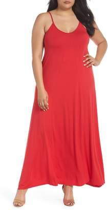 Loveappella A-Line Maxi Dress