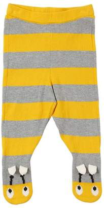 Stella McCartney Bee Striped Cotton Knit Tights