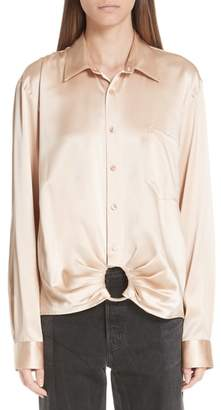 Martine Rose Ring Silk Shirt