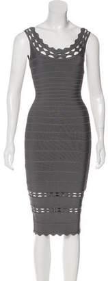 Herve Leger Lilykate Cutout Dress
