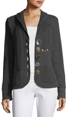 Neon Buddha Multi-Button Jacket
