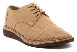 Toms Brogues Twill Wingtip Derby