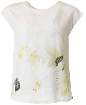 Ted Baker Pearly Petals Tie Back Top