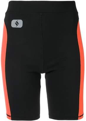 Alexander Wang side stripe cycling shorts