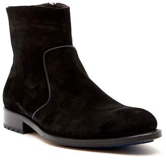 Mezlan Plain Toe Mini Lug Boot