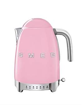 Smeg Klf04Pkau Variable Temperature Kettle - Pink