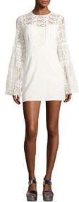 Spanish Dancer Lace Mini Dress