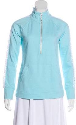 Lilly Pulitzer Zip-Up Crochet Top w/ Tags