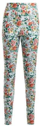 Golden Goose Ridanna Floral Print Leggings - Womens - Multi