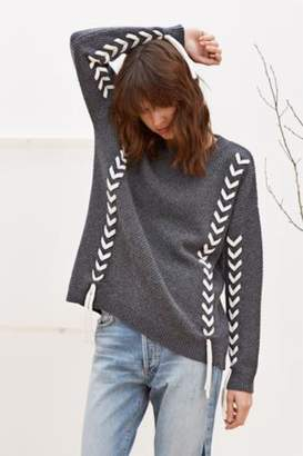 Charli Soraya Woven Sweater