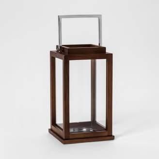 Threshold Lantern Candle Holder - Brown