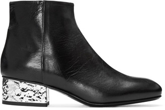 McQ Alexander Mcqueen Black Shacklewell Boots $555 thestylecure.com