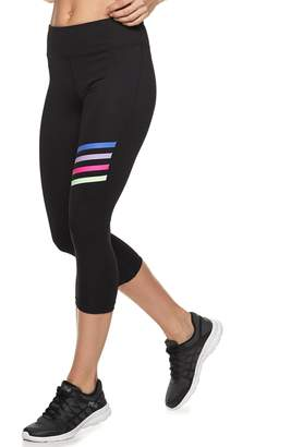 aaa0fed296d5 Fila Sport Women s SPORT Colorful Stripes Midrise Capri Leggings