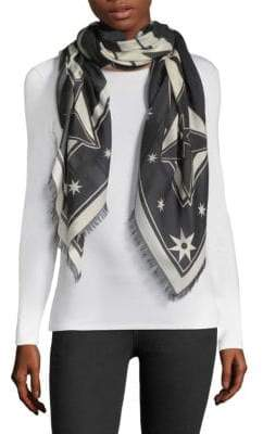 Givenchy Iconic Flash Cashmere-Blend Shawl