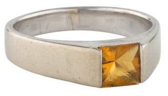 Ring 18K Citrine Band