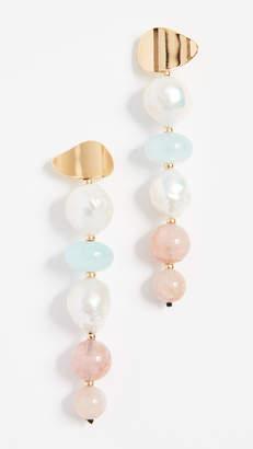 Lizzie Fortunato Pastel Column Earrings