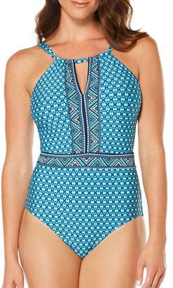 Jantzen Wow Factor One-Piece Swmsuit $108 thestylecure.com