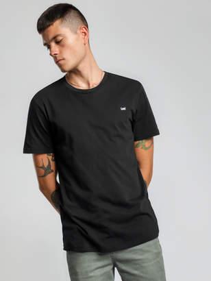 Lee No Brainer T-Shirt in Black Night