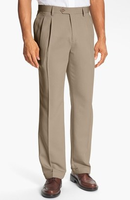 Men's Big & Tall Cutter & Buck Double Pleated Microfiber Pants $99.50 thestylecure.com