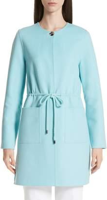 St. John Double Face Wool & Cashmere Jacket