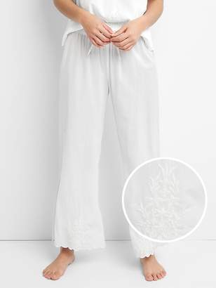 Gap Dreamwell Embroidered Woven Pants