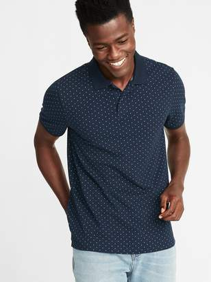 Old Navy Built-In Flex Moisture-Wicking Printed Pro Polo for Men