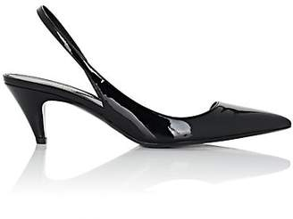 Saint Laurent Women's Charlotte D'Orsay Slingback Pumps - Black